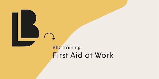 Emergency First Aid at Work: QA Level 3 Award