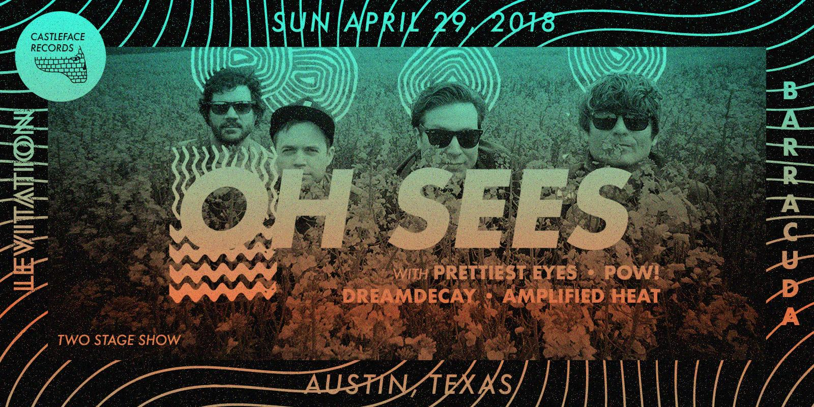 SOLD OUT - Thee Oh Sees, Prettiest Eyes + more