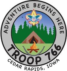 Boy Scout Troop 766 logo
