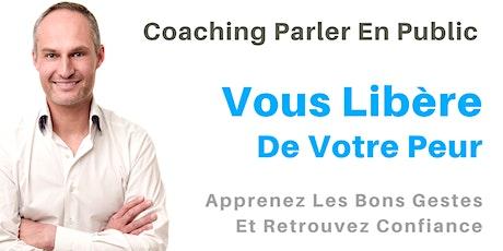 Coaching Parler en Public : Vous Libère De Votre Peur billets