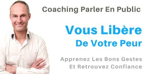 Coaching Parler en Public : Vous Libère De Votre Peur