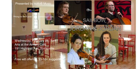 notloB Music Presents Sailbow & Jordan and Jordan tickets