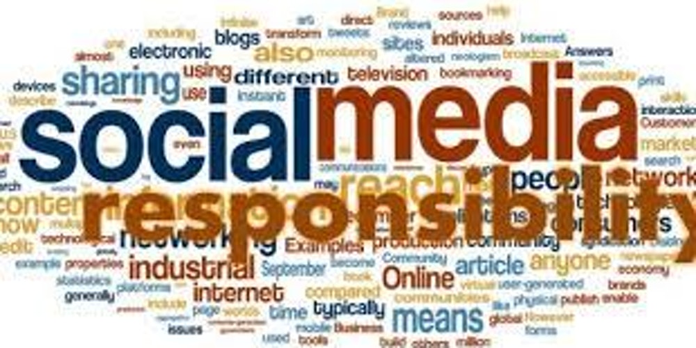 print media social responsibility A history of business ethics  as the term entered more general usage in the media and public responded by developing the notion of social responsibility.