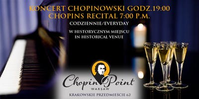 Chopin Live Concerts | Daily recitals, Old Town