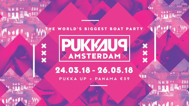 Pukka Up - Amsterdam Boat Party + Panama Entr
