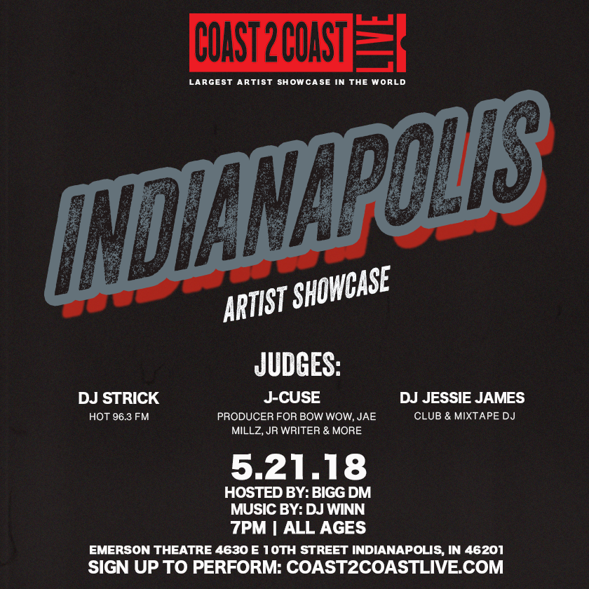 Coast 2 Coast LIVE Artist Showcase | Indianap