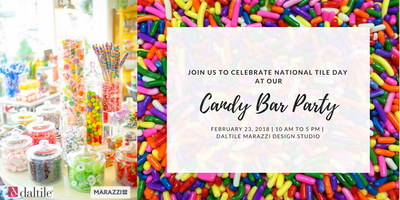 National Tile Day Candy Bar Party!