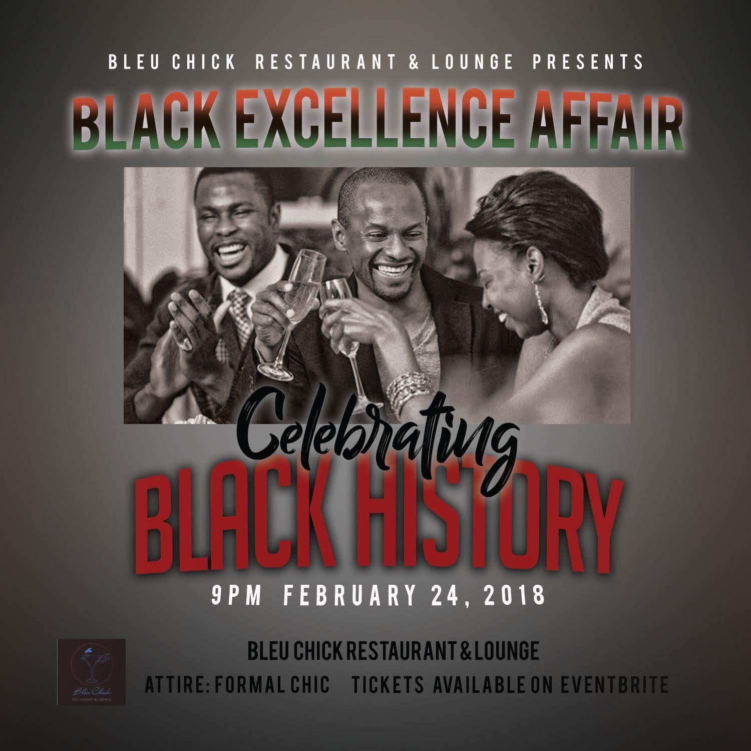 "Black Excellence Affair ""Celebrating Black Hi"