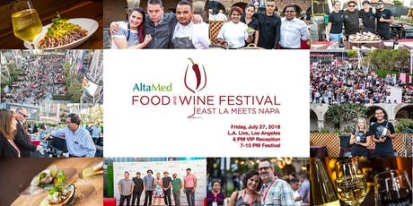 AltaMed Food & Wine Festival-East LA Meets Napa tickets