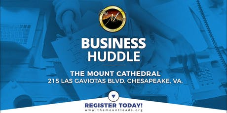 The MOUNT Business Huddle tickets