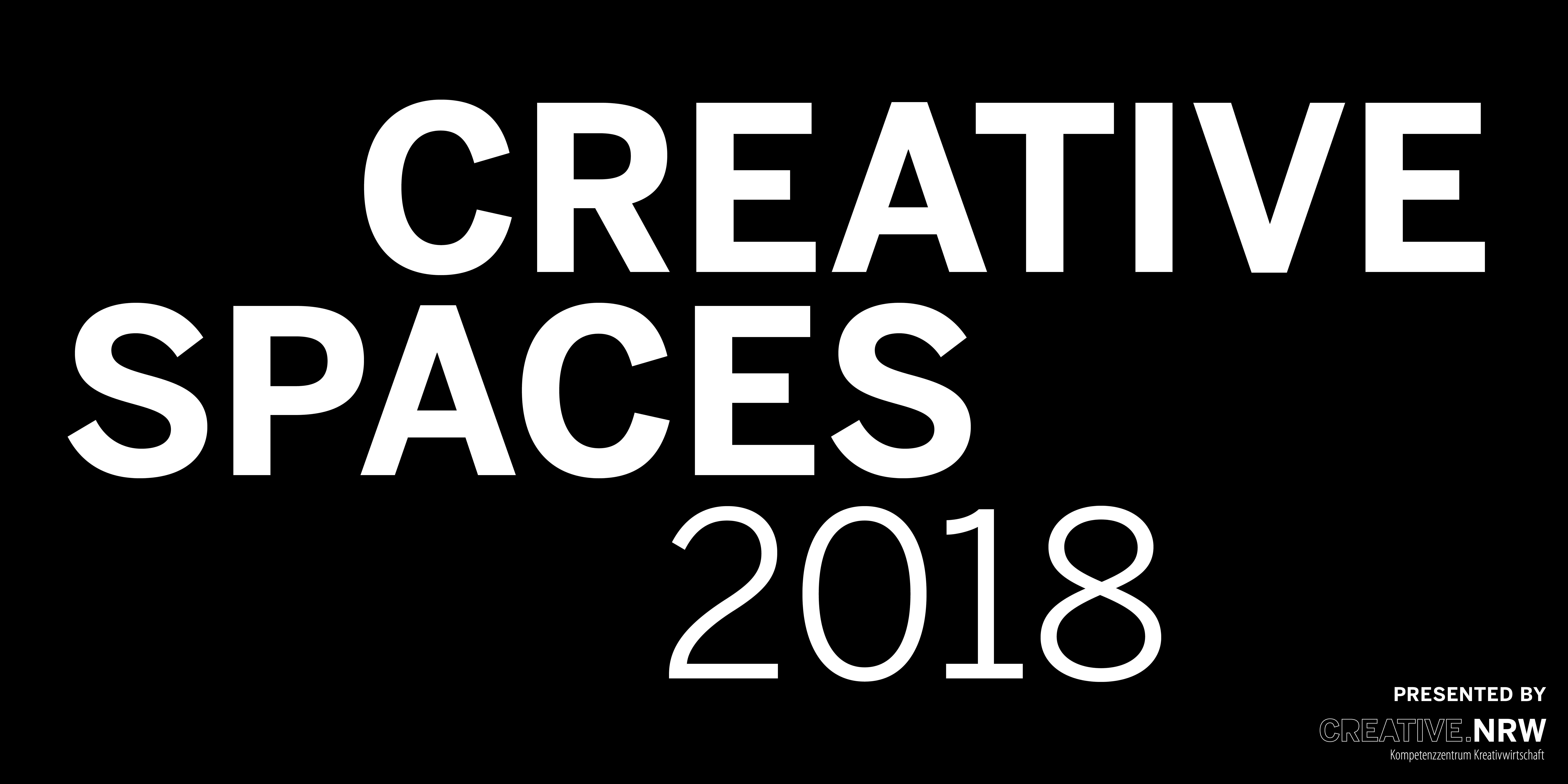 CREATIVE.Spaces 2018 Preisverleihung