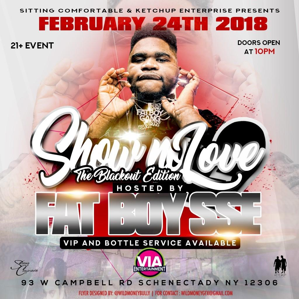 FatBoy SSE Host│Show No Love...The Black Out