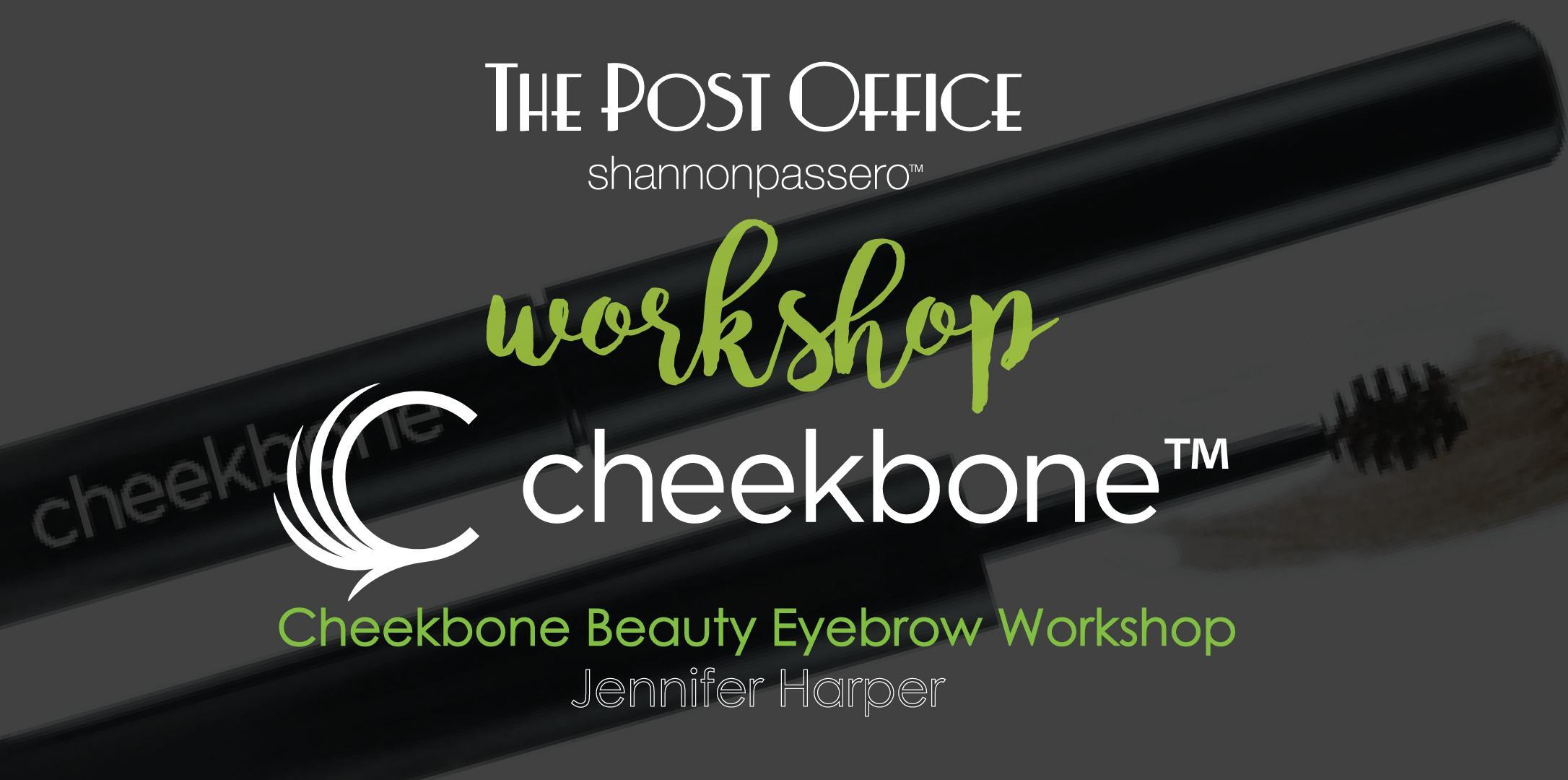 Cheekbone Beauty Eyebrow Workshop