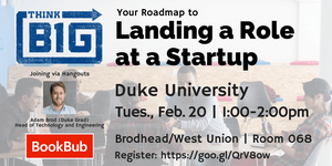 Your Roadmap to Landing a Role at a Startup