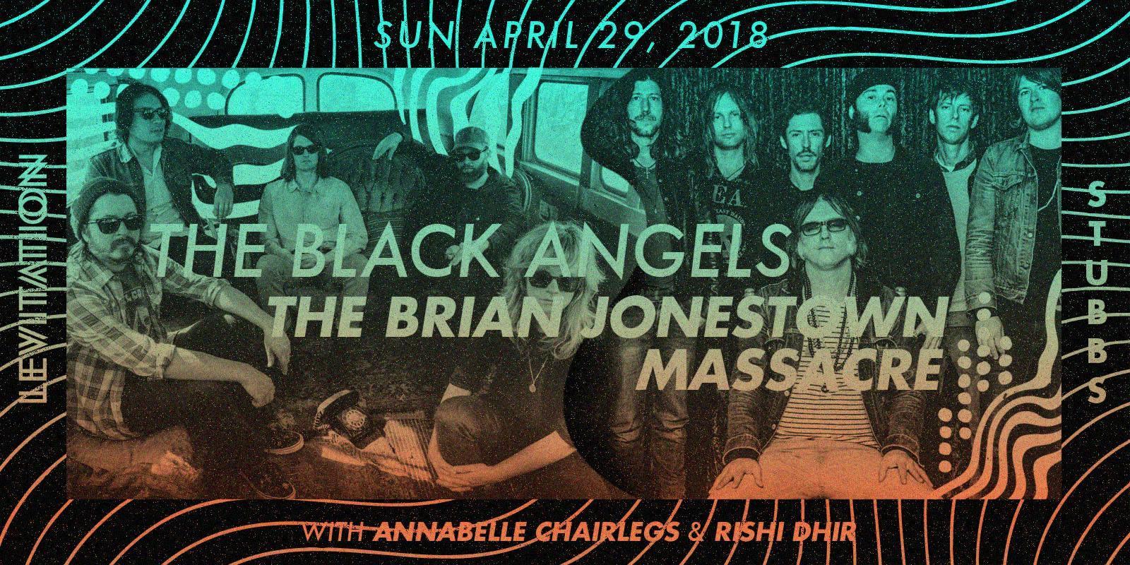 The Black Angels, The Brian Jonestown Massacre + more