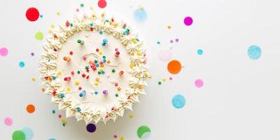 La torta di compleanno.