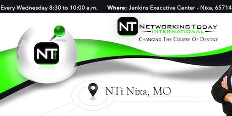 Networking Today Intl-Nixa Central at Jenkins Executive Center tickets