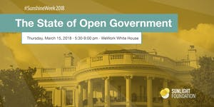 Sunshine Week 2018: The State of Open Government