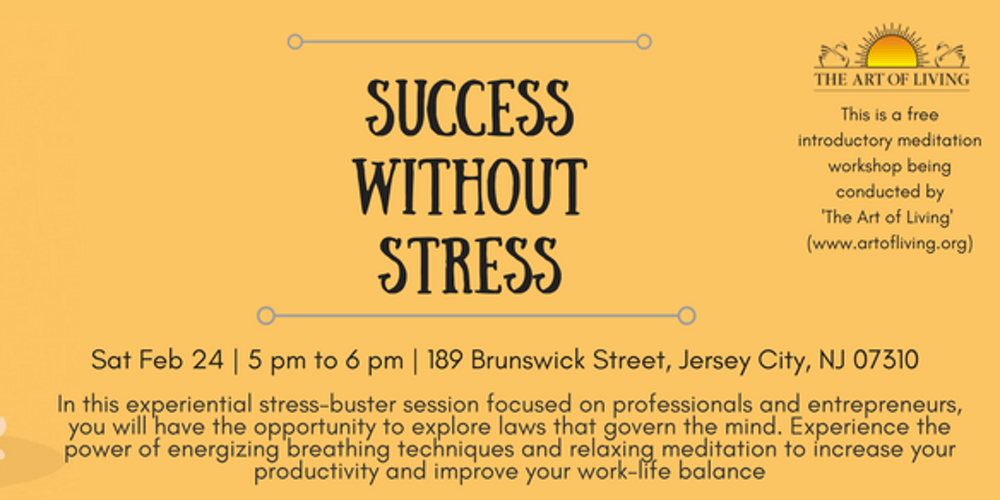 Success without Stress! Tickets, Sat, Mar 24, 2018 at 5:00