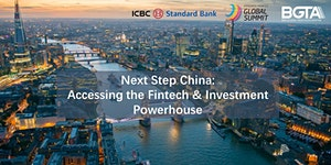 Next Step China: Accessing the Fintech & Investment...