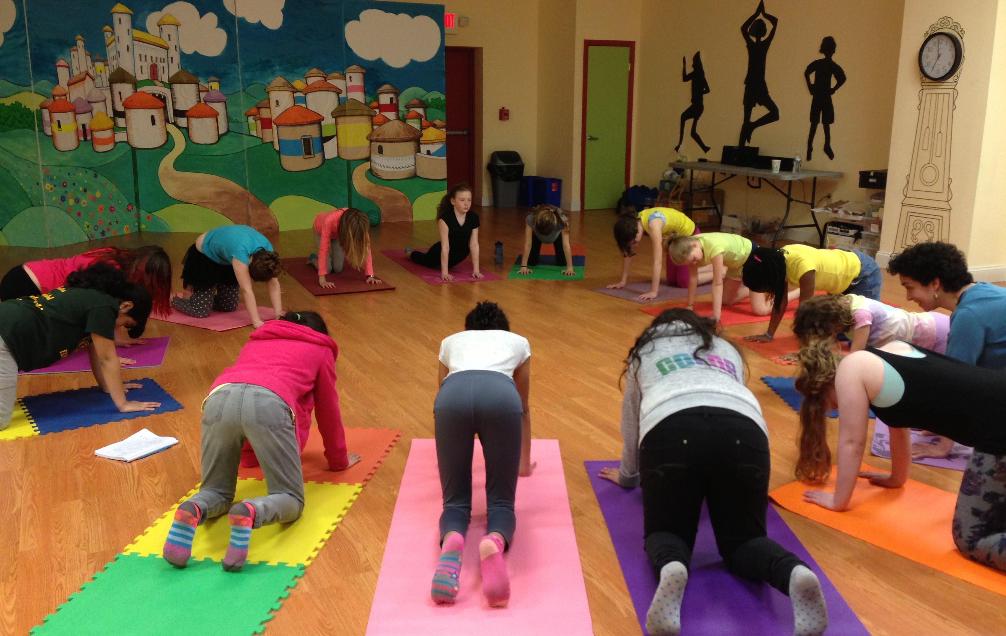 Teen Yoga & Mindfulness photo