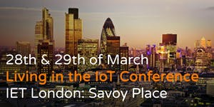 Living in the IoT Conference