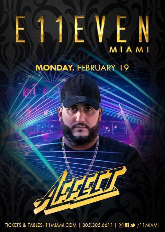 Affect at E11even Guestlist - 2/19/2018