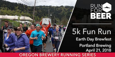 event in Portland: Portland Brewing Earth Day 5K Fun Run