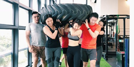 4 Play Strength Training Group Class @ The Playground tickets