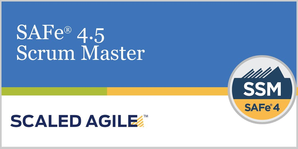 Safe 45 Scaled Agile Framework Scrum Master With Ssm