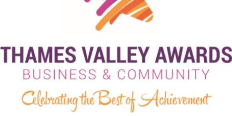 Thames Valley Business And Community Awards Tickets Wed - 31 jan