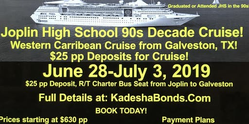 JHS 90's Decade Cruise- Joplin High School 1990-1999 Classes