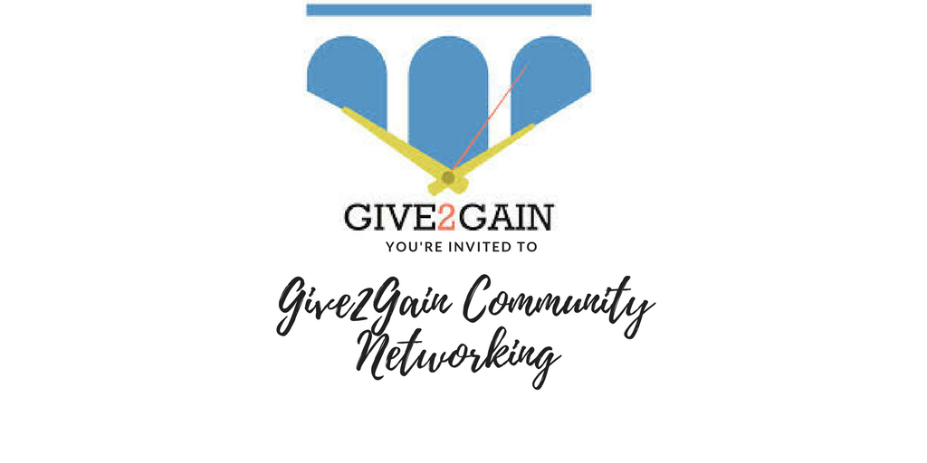 Give2Gain Connect Friday Hosted By The Challe