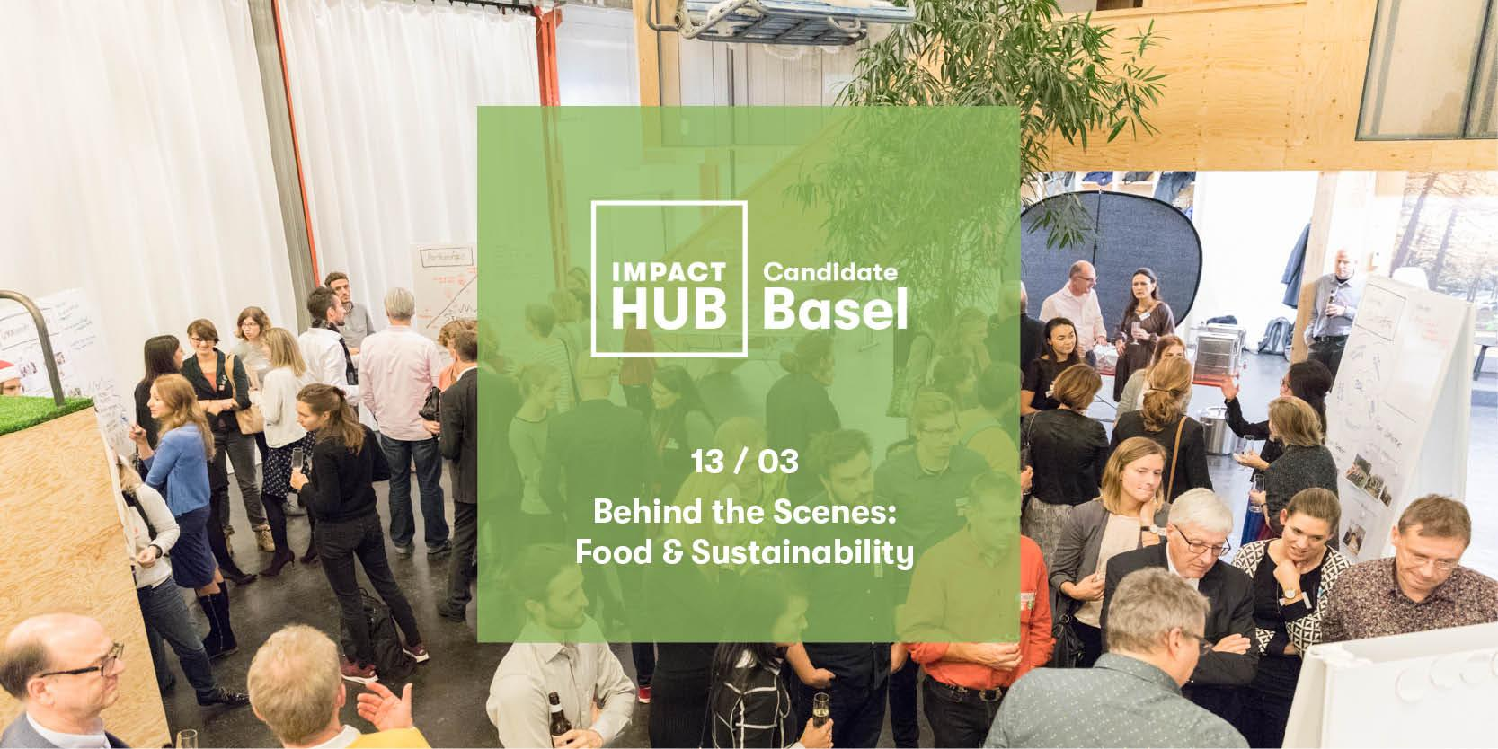 Behind the Scenes: Food & Sustainability