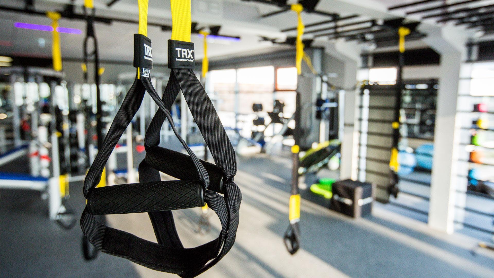 April • TRX® Strength Workout @ Under Armour