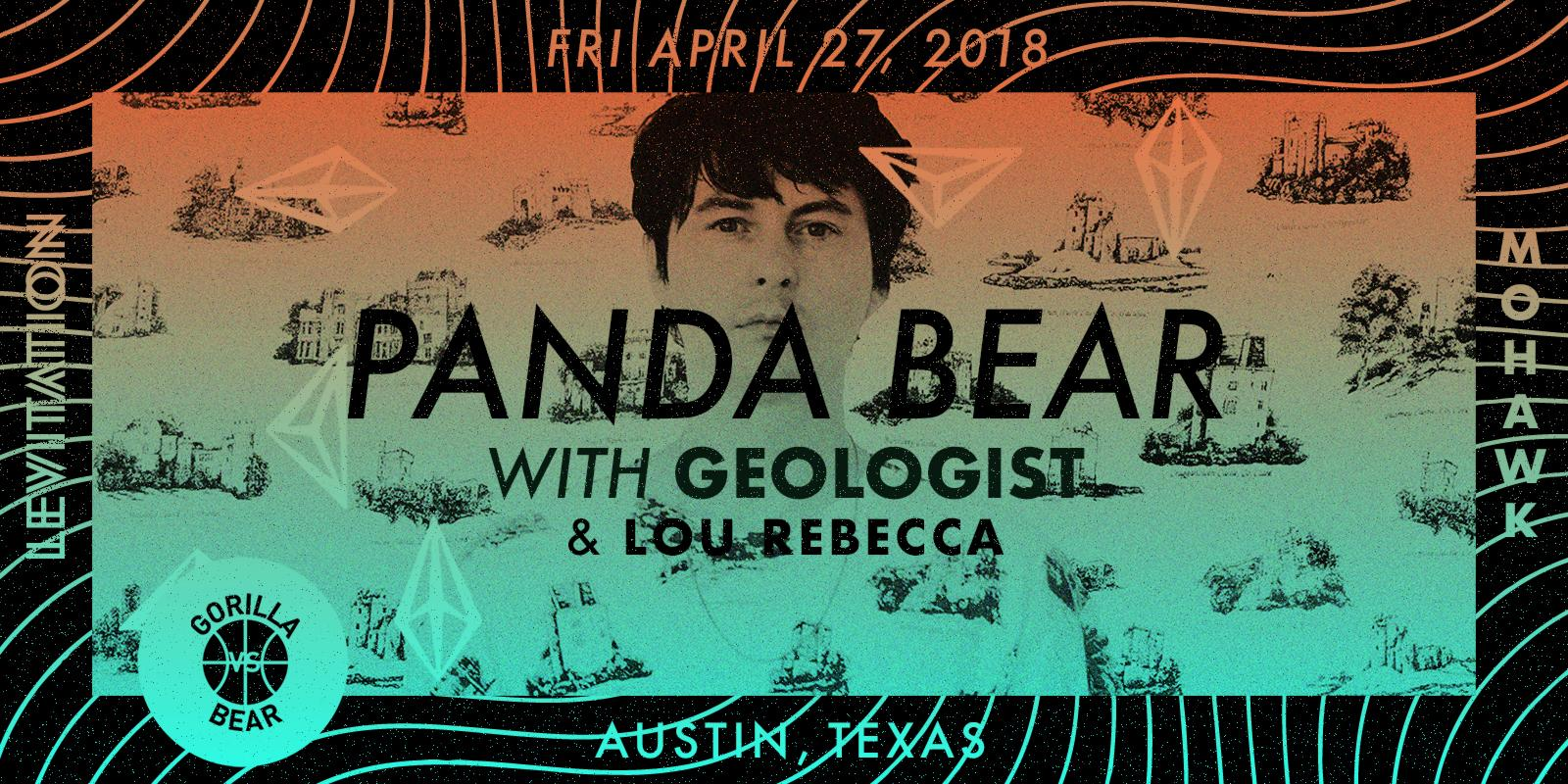 Panda Bear, Geologist + more