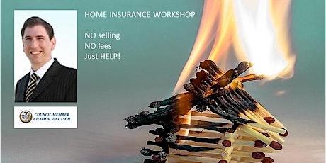 Home Insurance Workshop: Sheepshead Bay tickets