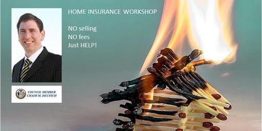 Home Insurance Workshop: Sheepshead Bay