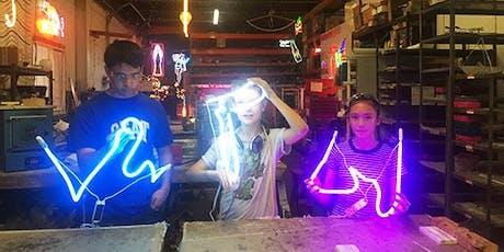 Teen Summer Program - Neon Bending and Flame Working tickets