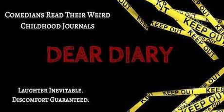 Dear Diary: Comics Read Their Weird Childhood Journals tickets