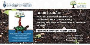 Book Launch: Natural Curiosity 2nd Edition