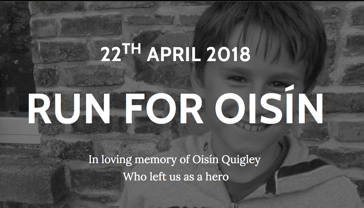 Run for Oisin