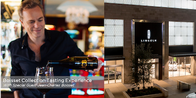 Boisset Collection Wine Tasting with Special Guest Jean-Charles Boisset