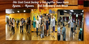 3hr Swing Dance Boot camp in Atlanta 2nd Saturday of...