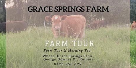 Grace Springs Farm - Farm Tour & Morning Tea tickets