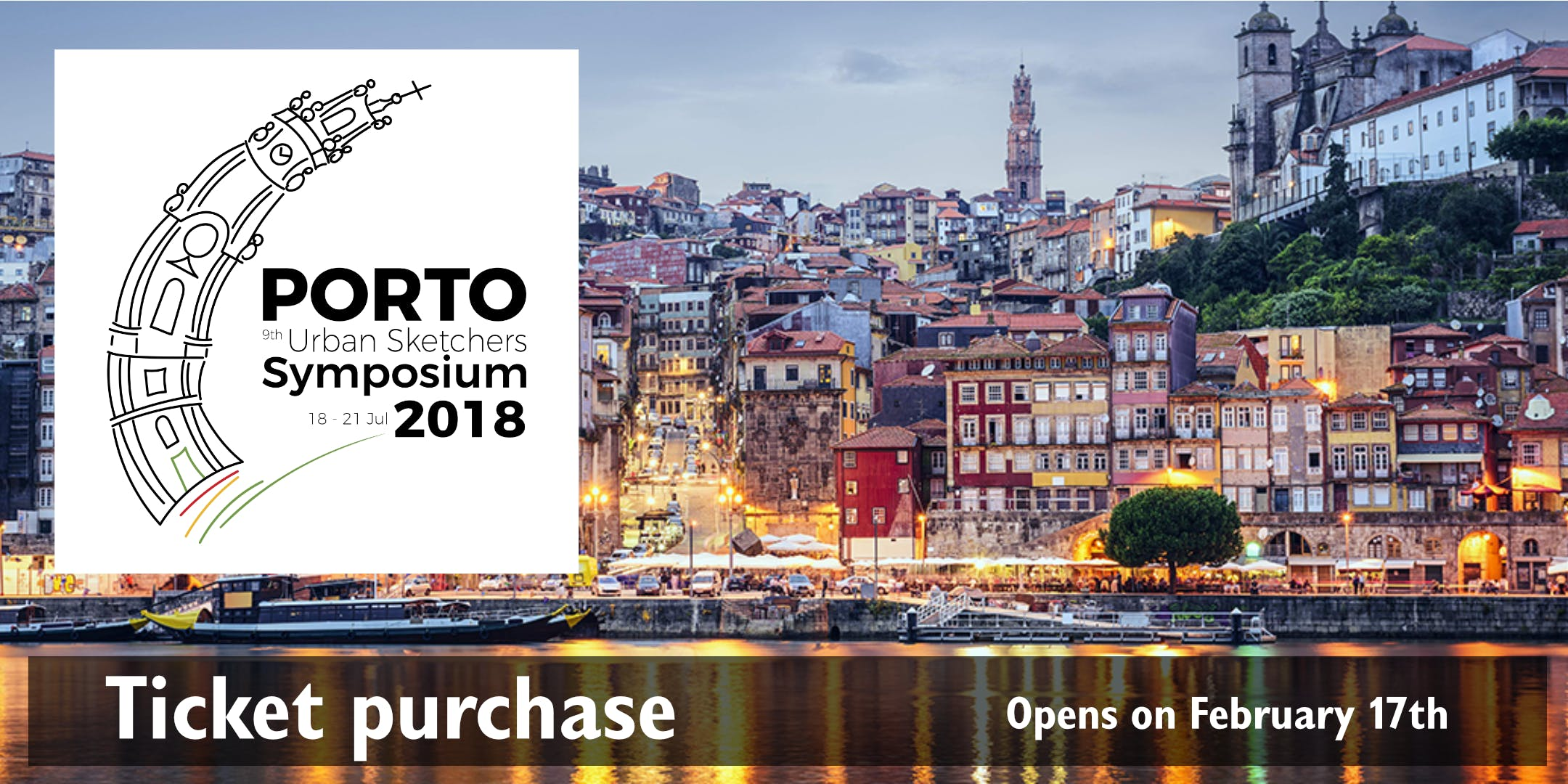 9th Urban Sketchers Symposium - Porto 2018