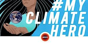 #MyClimateHero: Interactive comic art exhibition