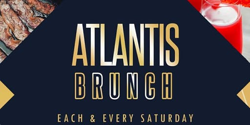 SATURDAY BRUNCH & DAY PARTY AT ATLANTIS