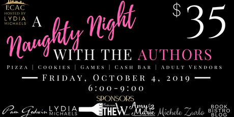 ECAC19 A Naughty Night with the Authors tickets