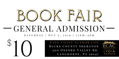 ECAC19 Book Fair (GENERAL ADMISSION) tickets